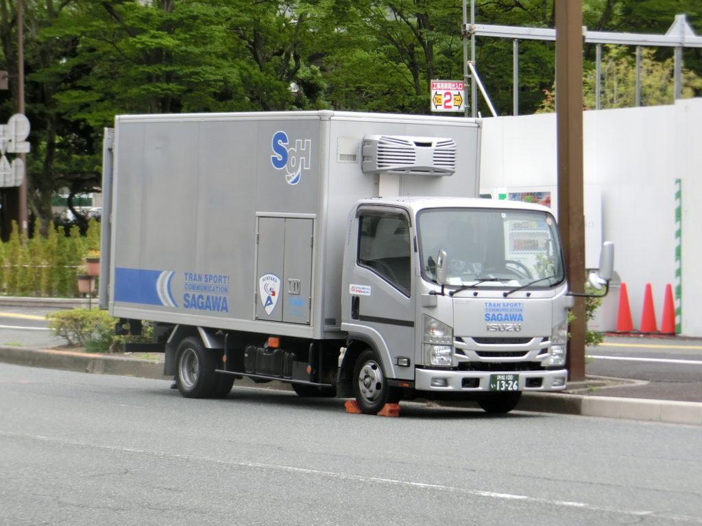 浜松100い1326 エルフ 浜松営業所