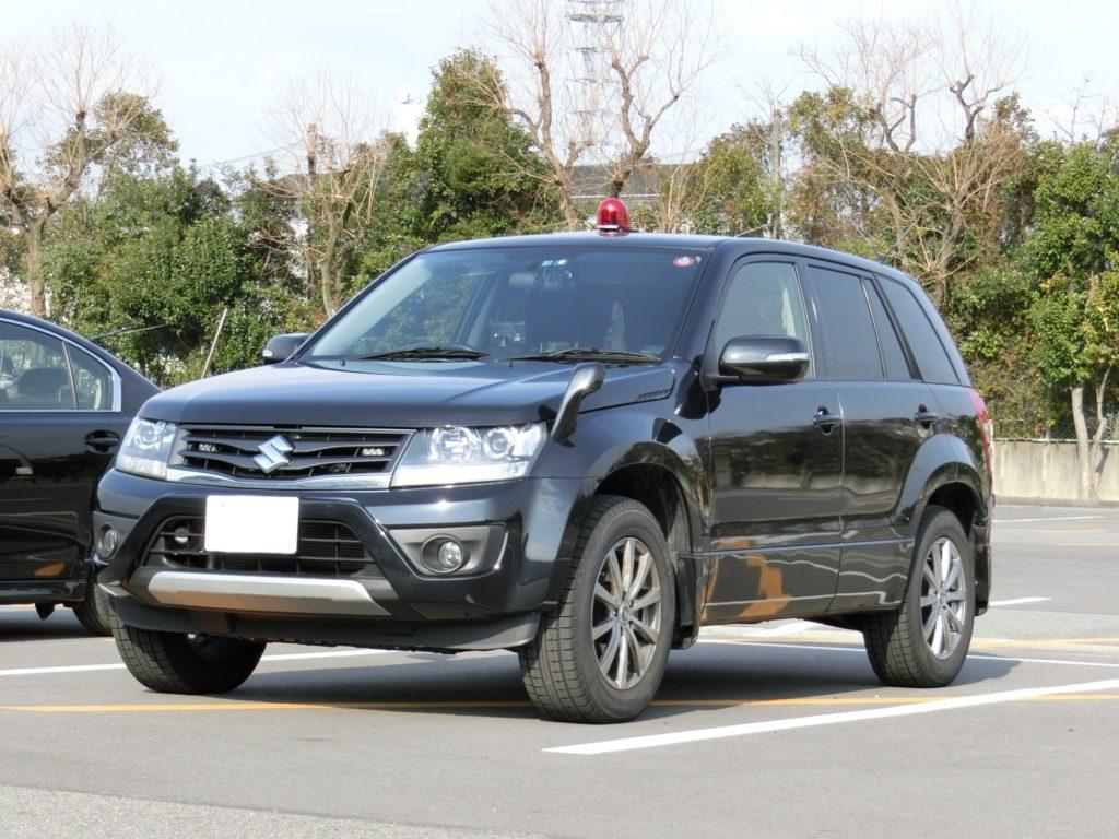スズキ・エスクードXGの遊撃警護車(高床ワゴン型)