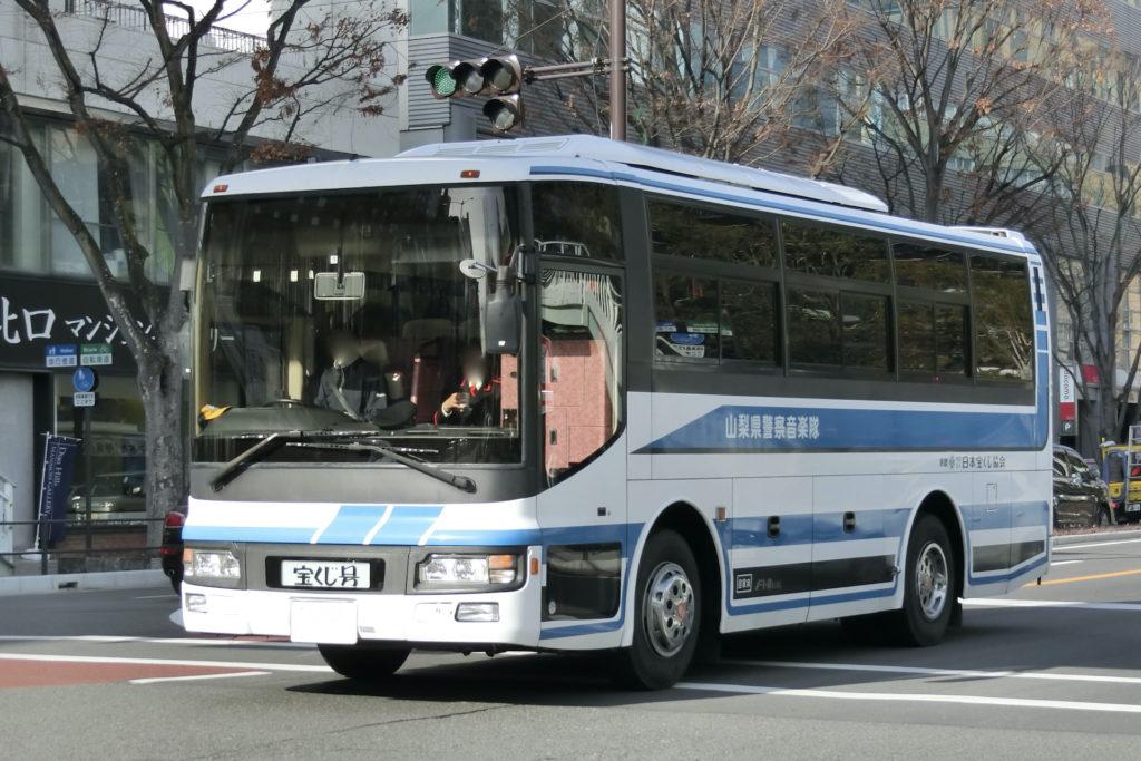 日産ディーゼル音楽隊用バス