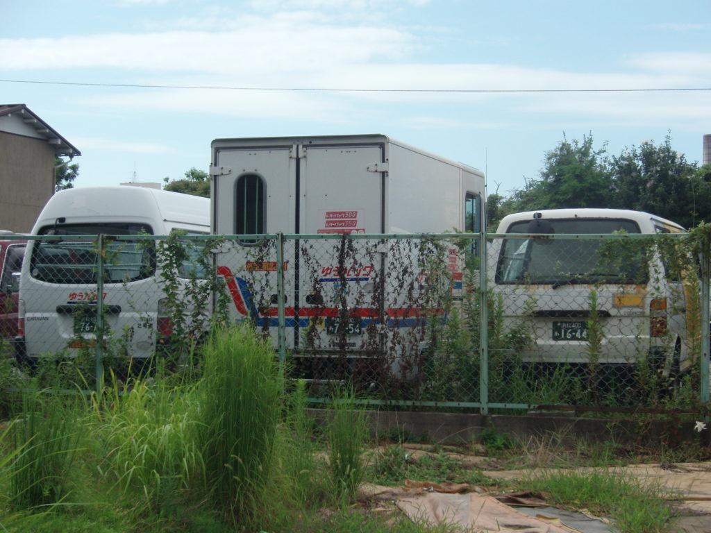 ゆうパックの集配車、浜松西郵便局、ペリカン便からの移籍車両